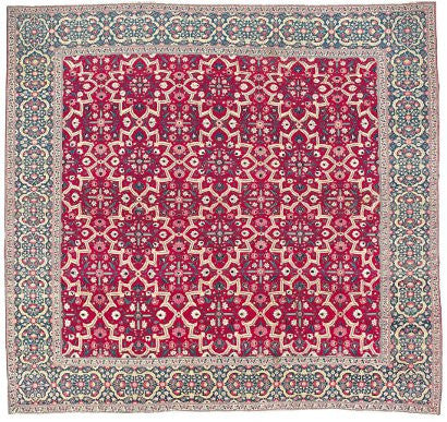 Millefleur Indian carpet