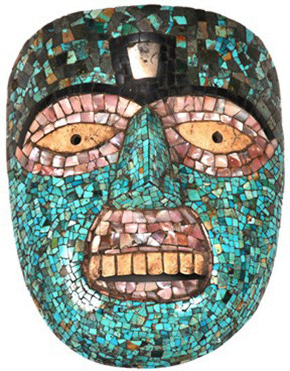 Mixtec mosaic mask