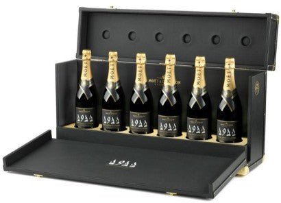Moet & Chandon champagne auction ATP tennis signed