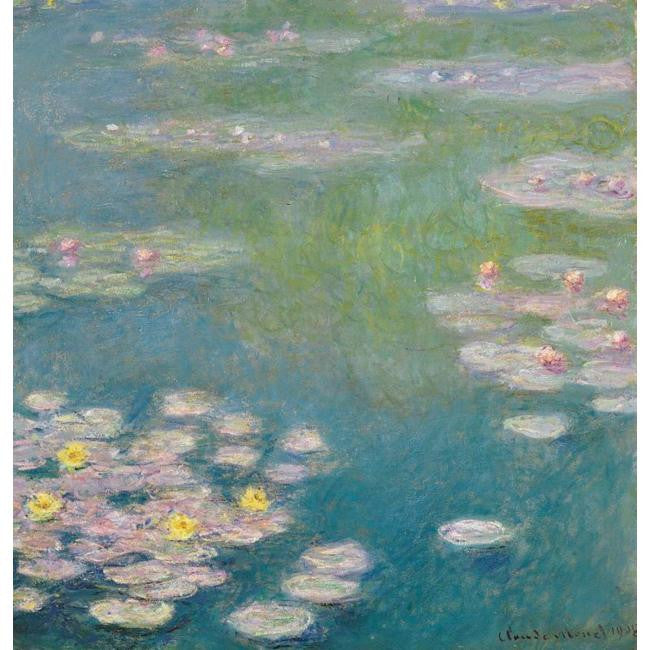One of Claude Monet's Water Lilies, owned by Henri Canonne