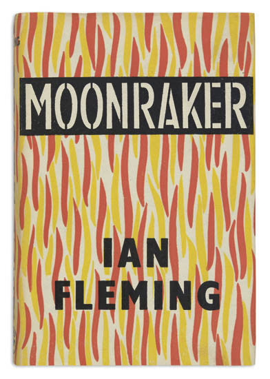 James Bond Moonraker first edition