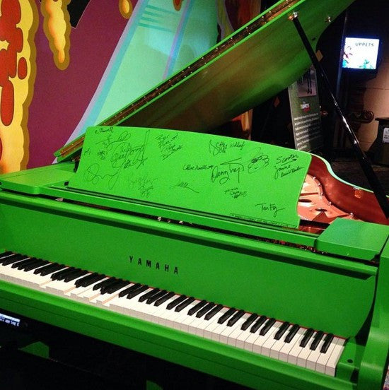 Muppets Most Wanted piano