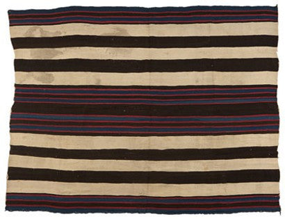 Native American Blanket World Auction Record Navajo Indian