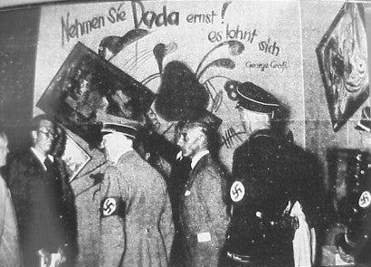 Nazi degenerate art exhibition