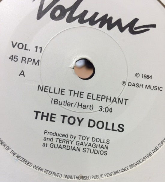 Nellie the Elephant pressing
