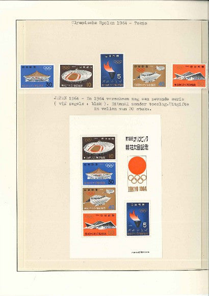 Olympic Games stamp collection