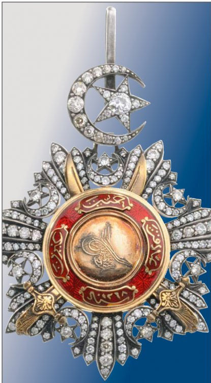 Turkish medal: Order of Medidje