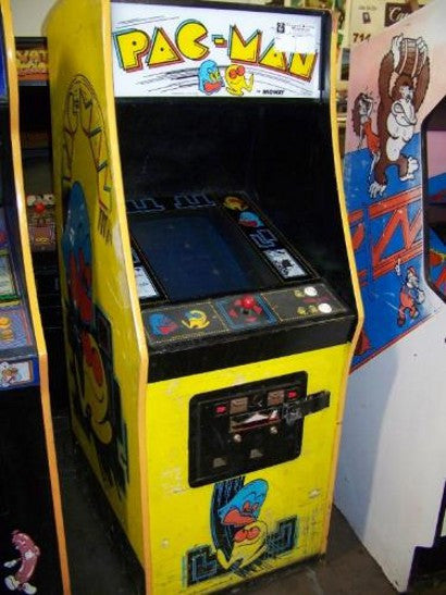 Original Pac-Man machine