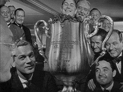 Orson Welles Citizen Kane Trophy