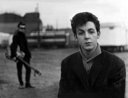 Paul McCartney photographed in Germany circa 1960