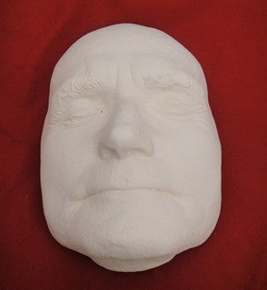 Plaster of Paris Mask, Albert Pierrepoint