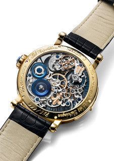 Russian Imperator Watch, back