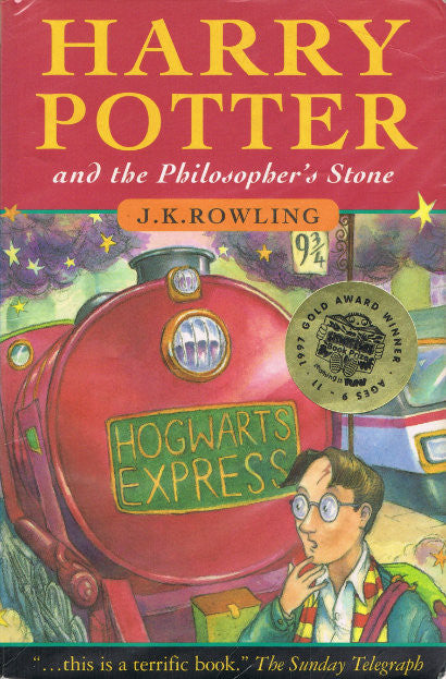Signed Harry Potter: Available at £1,250 ($1,875)