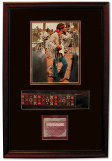 Jimi Hendrix, framed collection