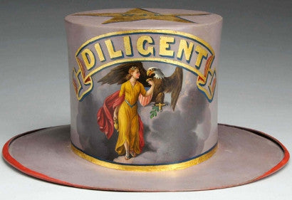 Parade hat for Diligent Fire Company410.jpg