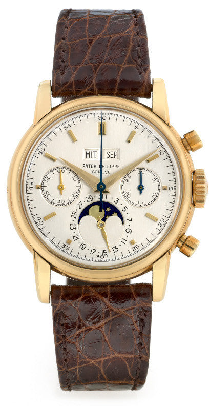 Patek Philippe 2499 gold watch