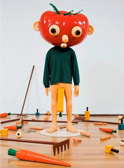 Contemporary art Paul McCarthy Tomato Head