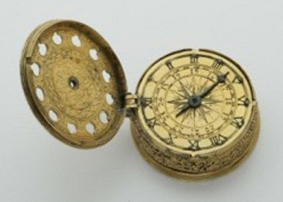 The unique silver gilt pocket watch