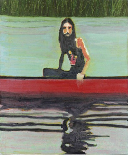 Peter Doig Red Canoe