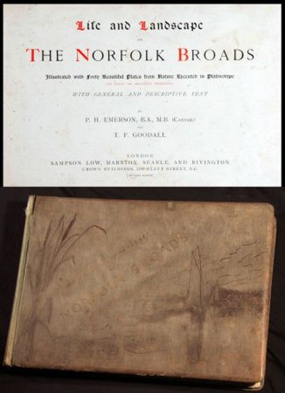 Peter Henry Emerson Norfolk Broads book