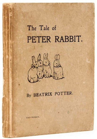 Peter Rabbit First Edition book