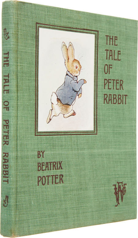 First Edition of The Tale of Peter Rabbit by Beatrix Potter