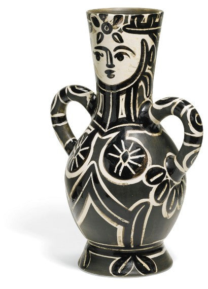 Picasso ceramic vase Sotheby's