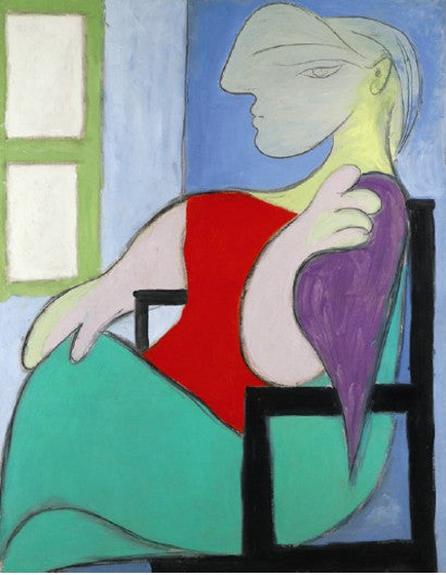 Picasso 1932 Marie-Therese Golden Muse portrait