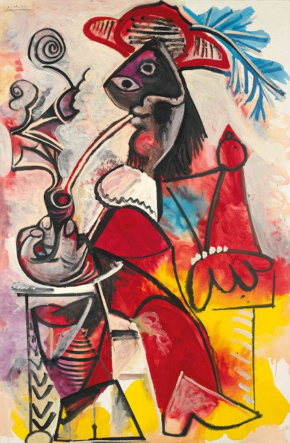 Picasso Mousquetaire a la Pipe Sotheby's