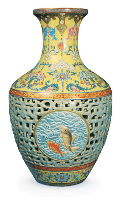 Qianlong looted chinese vase