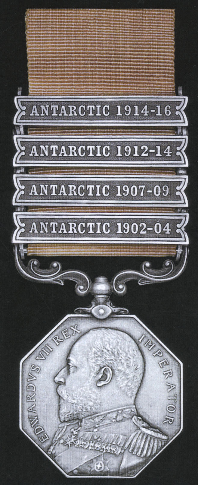Polar medal for Captain Lawrence Oates, Birdie Bowers, Edgar Evans for Scott's Antarctic