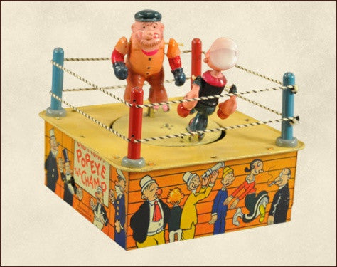 Popeye the Champ toy