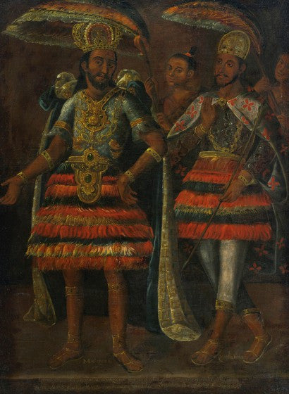Portrait of Moctezuma