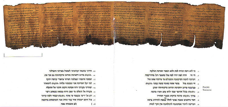 Books of Psalms from the Dead Sea Scrolls