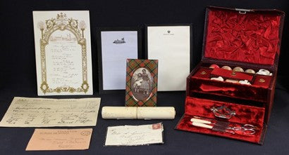 Queen Victoria Balmoral stockings auction