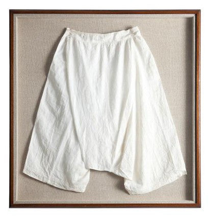 Queen Victoria silk bloomers underwear