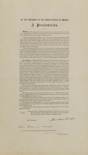 Robert F Kennedy Emancipation Proclamation
