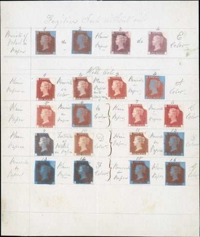 Rainbow Trials Fugitive Ink Sheet Chartwell Collection