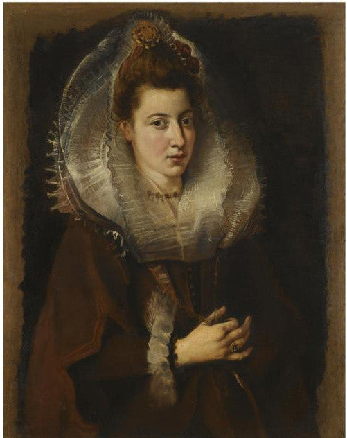 Rubens portrait rediscovered woman