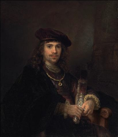 Rembrandt Man with Sword