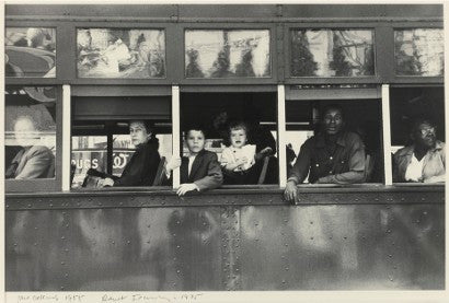Robert Frank New Orleans (Trolley)