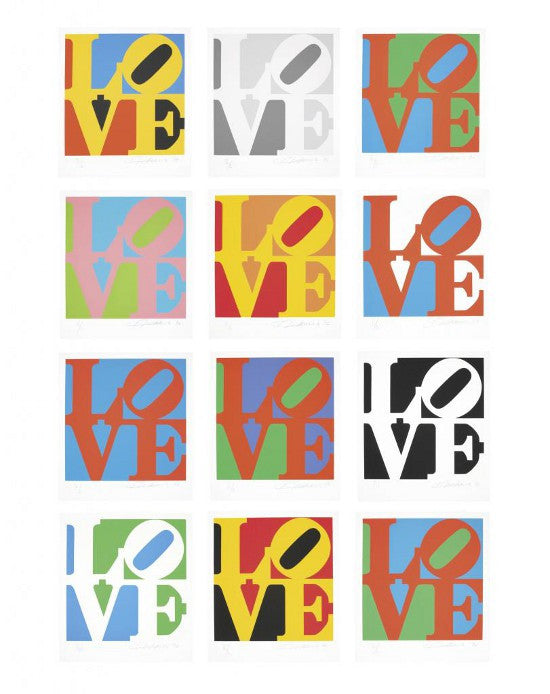 Robert Indiana Love print