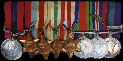 Robert Dennis Gay medals