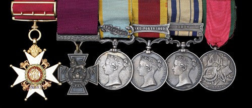Rogers Victoria Cross and Companion of the Bath group