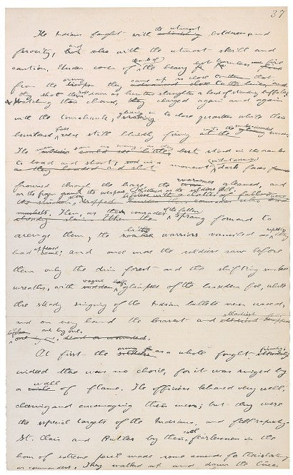 Roosevelt Winning West manuscript