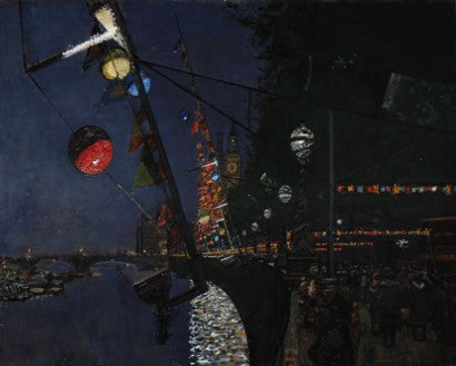 Ruskin Spear's Festival of Britain painting