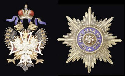 Russian Imperial Order of the White Eagle - Lord Grenfell