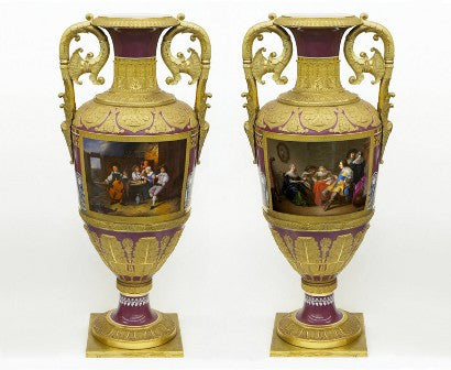 Russian Imperial Vases auction