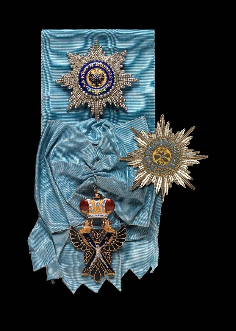 Russian St Andrew Badge