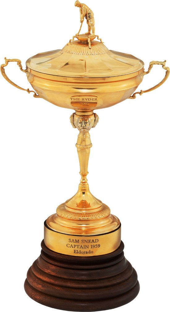 Sam Snead Ryder Cup trophy